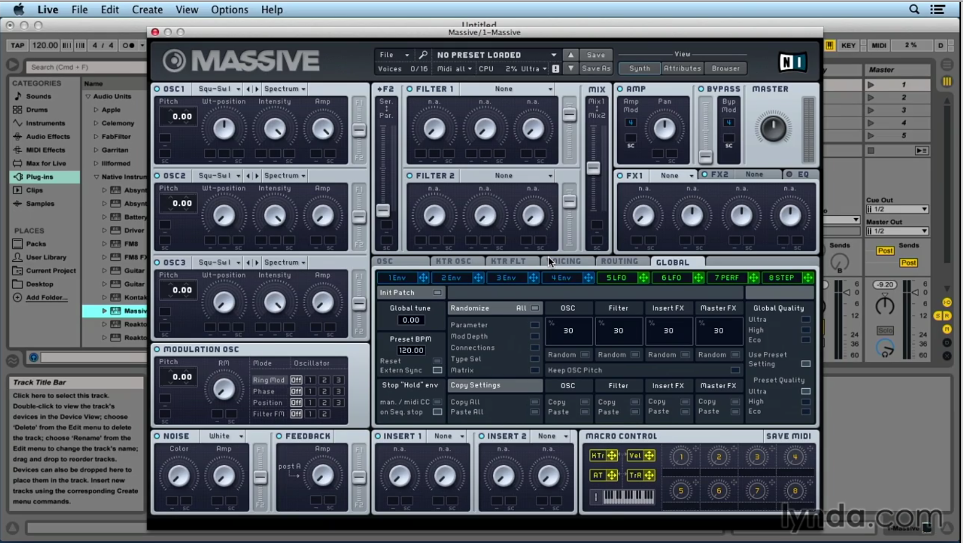 Up and Running with Native Instruments Komplete