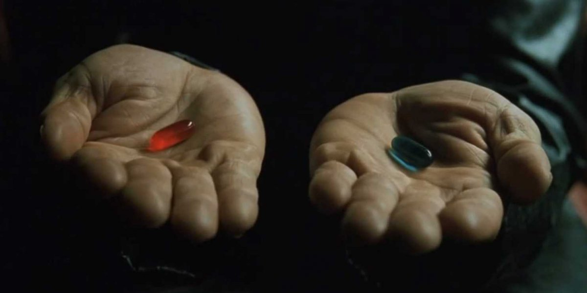 Sometimes I Wish I Could Be Inserted Back Into The Matrix.